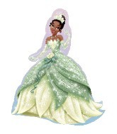 "32"" Princess Tiana Shape Balloon"