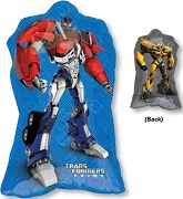"30"" Transformers Optimus Prime & Bumblebee"