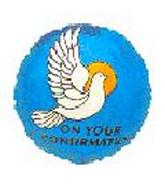"9"" Airfill Confirmation Dove Blue"
