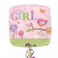 "18"" Tweet Baby Girl Balloon"
