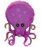 "35"" Amazing Octopus Balloon"