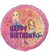 "18"" Happy Birthday Bratz Charmed Balloon"