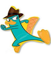 "36"" Agent P Phineas and Ferb Balloon"