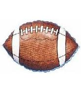 "9"" Airfill Football Balloon Shape"