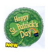 "18"" St. Patricks Day Pot of Gold Foil Balloon"