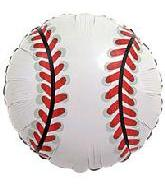 "18"" Baseball Mylar Balloon"