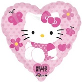 "18"" Hello Kitty Heart Love Balloon"