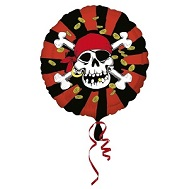 "18"" Jolly Roger Pirate Balloon"