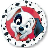 "18"" 101 Dalmations Mylar Balloon"