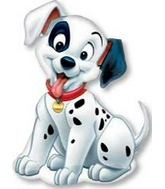 "32"" 101 Dalmation Shape Mylar Balloon"