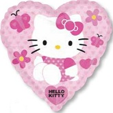 Hello Kitty Jumbo Heart Balloon