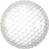 "18"" Golf Ball 2 sided Mylar Balloon"