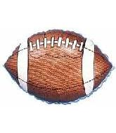 "18"" Football Shape Mylar Balloon"