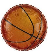 "2"" Airfill Only Basketball Mini Balloon"