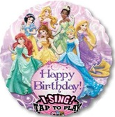 "28"" Sing-A-Tune Disney Princess Birthday Balloon"