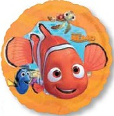 "18"" Orange Boarder Finding Nemo Balloon"