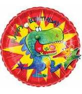 "18"" Happy Birthday Pterrific Pterodactyl Balloon"