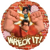 "18"" Wreck It Ralph Mylar Balloon"