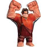 "42"" Wreck It Ralph Shape Jumbo Mylar Balloon"