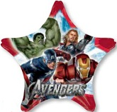 "33"" Avengers Group Star Balloon"