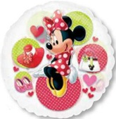"26"" Minnie Mouse See-Thru Balloon"
