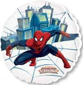 "26"" City Spider Man See-Thru Balloon"