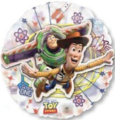 "26"" Toy Story See Thru Buzz & Woody"