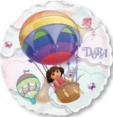 "26"" Dora See-Thru Hot Air Balloon"