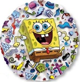 "26"" SpongeBob See-Thru Balloon"