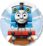 "26"" Thomas the Tank See-Thru Balloon"
