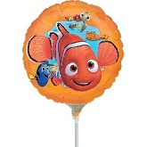 "9"" Airfill Only Finding Nemo Balloon"