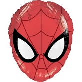 "20"" Ultimate Spider-Man Head Shape Balloon"