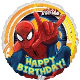 "18"" Spider-Man Ultimate Birthday Balloon"