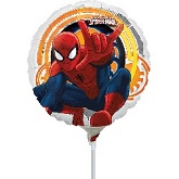 "9"" Airfill Only Spider-Man Ultimate Balloon"