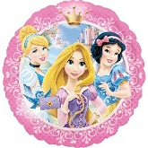 "18 ""Princesas Retrato Balloon"