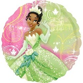 "18"" Disney Princess Tiana Mylar Balloon"