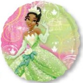 "18"" Princess Tiana Happy Birthday Balloon"