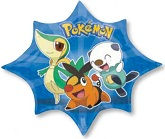 "35"" Pokeman Jumbo Mylar Balloon"
