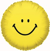 "4"" Airfill Smiley Face Yellow"