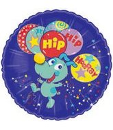 "18"" Fuzzies Hip Hip Hooray Packaged"