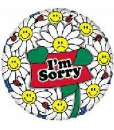 "18"" I&#39m Sorry Smiley Flowers"