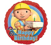 "18"" Happy Birthday Bob The Builder"