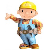 "33"" Bob the Builder Shape Balloon"