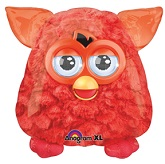 "25"" Red Furby Jumbo Mylar Balloon"