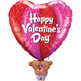 "37"" Valentine&#39s Day Hot Air Balloon"