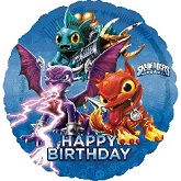 "18"" Skylanders Happy Birthday Balloon"