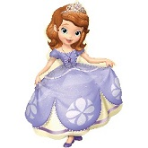 "42"" Balloon Disney Princess Sofia The First"