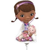 "14"" Airfill Only Doc McStuffins Balloon"