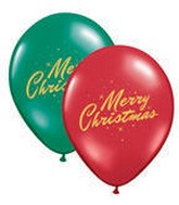 "36"" Merry Christmas Sparkles Latex Balloons"