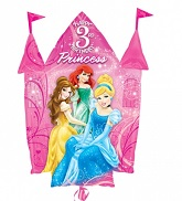 "35"" Disney Princesses 3rd Birthday Castle"
